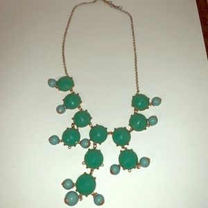 Turquoise statement necklace!
